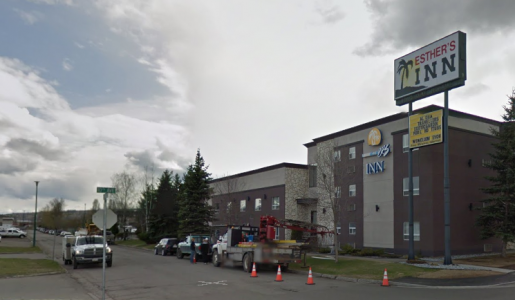 Esther's Inn in Prince George. [Google Streetview)
